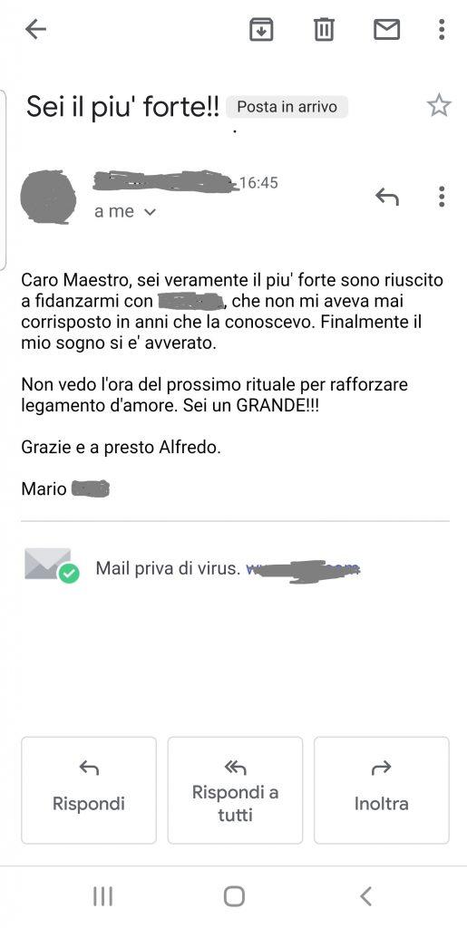 Maestro Alfredo Testimonianze