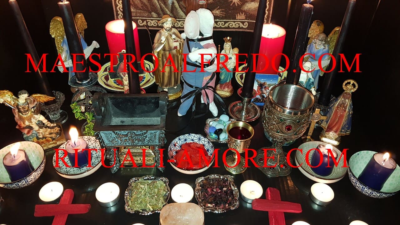 rituali d'amore magia nera